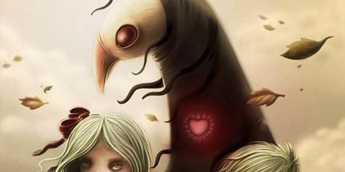 illustration horror tutorial