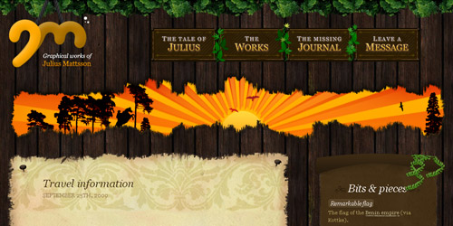 Nature Web Design