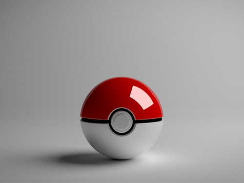 pokeball 3D wallpaper