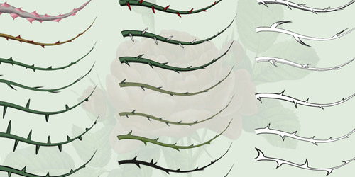 thorn illustrator brushes free