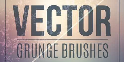 vector grunge illustrator brushes