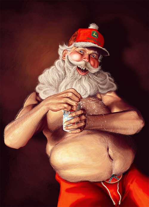 Unique Santa Artworks
