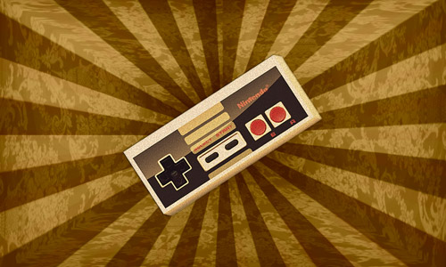 retro Nintendo wallpaper