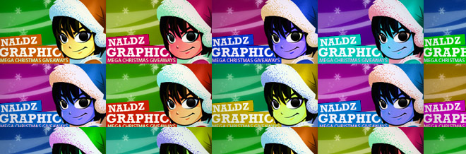 Naldz Graphics Mega Christmas Giveaways