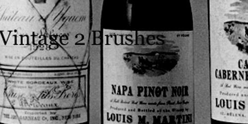 Photoshop Vintage Brushes