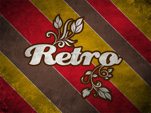 Free  Retro Wallpapers