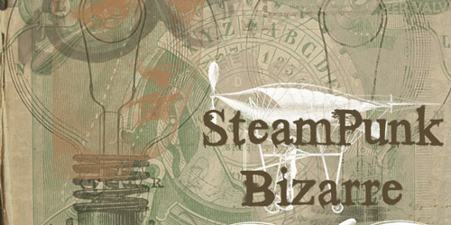 steampunk retro bursh
