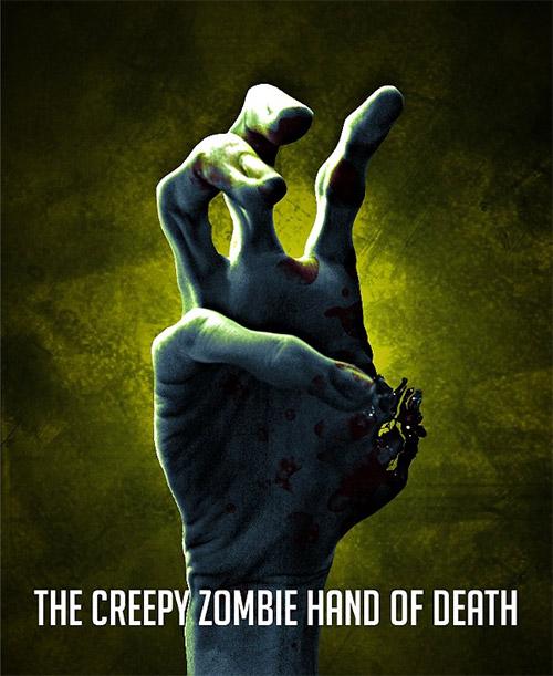 zombie hand gimp tutorial