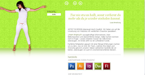 Horizontal Scrolling Websites