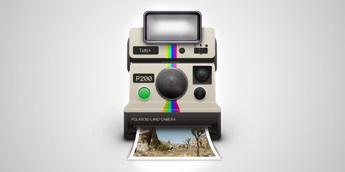 polaroid camera photoshop tutorial