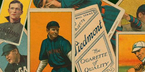 baseball cards retro brushes