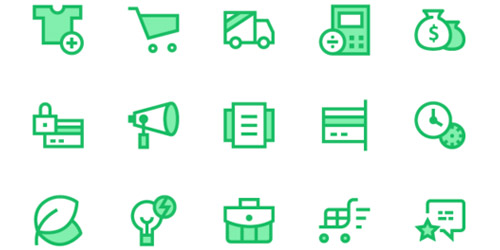 commerce web icons