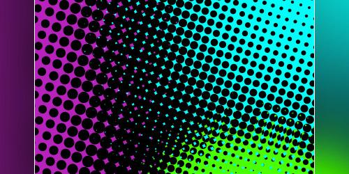 retro dots brushes