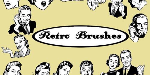 Photoshop Retro Brushes