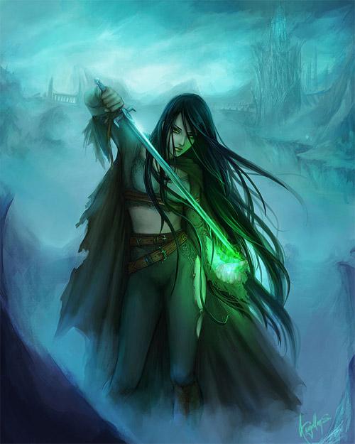 Astonishing Artworks Of Fantasy Lady Warrior Character