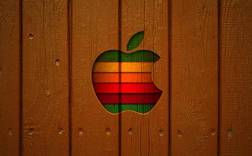 iPad Wallpaper Wooden Style