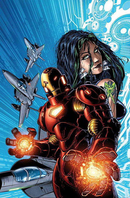 Iron Man Hypervelocity cover
