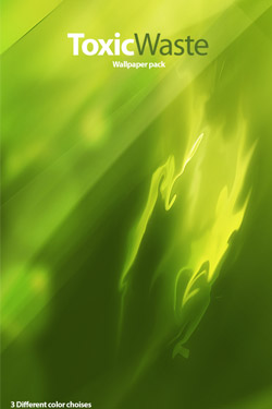 Toxic Waste iPhone Wallpaper
