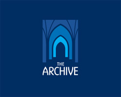 The Archive Blue Logo