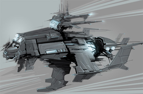 battle ship concept