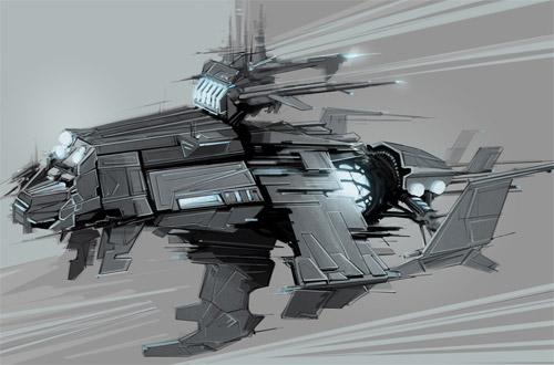 battle ship concept