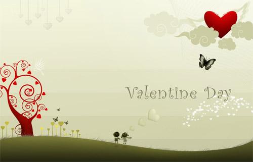 11 lovely valentine wallpaper منشورات عيد الحب فيس بوك 2016 | منشورات عن عيد الحب للفيس بوك