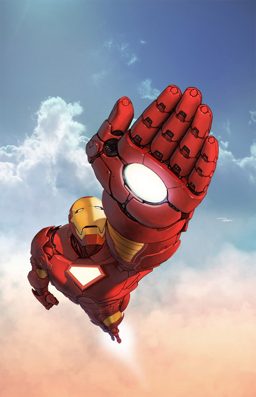 iron man fly