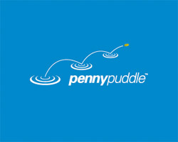 Penny Puddle Blue Logo