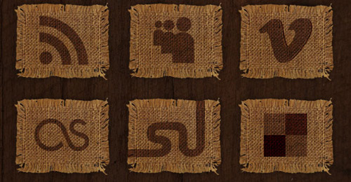 woven fabric icon sets