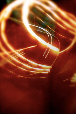 Light Trails iPhone Wallpaper