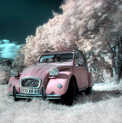 Crazy car Infrared