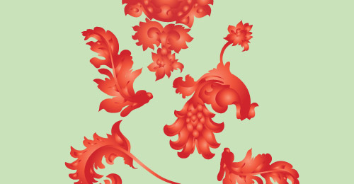 Flourish Freebie Ornament