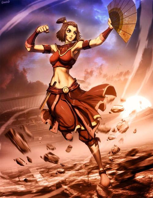 avatar suki fire nation