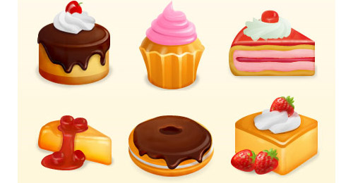 yummy icon set