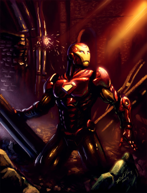 The Ruins Iron Man