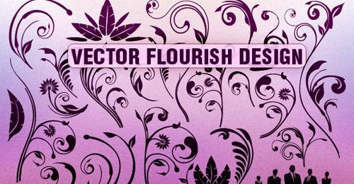 Vector Flourish Designs