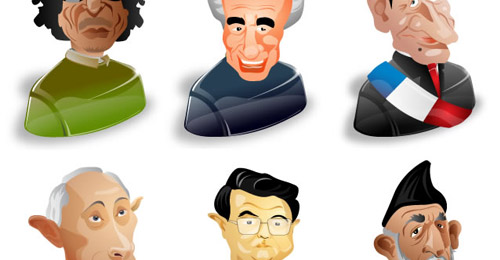 political characters icon