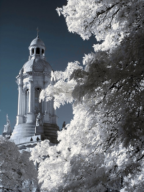 winter snow infrared