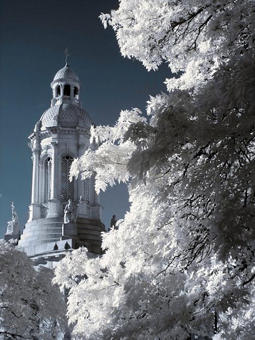 winter snow infrared