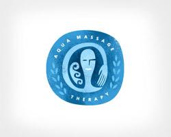 Aqua Massage Blue Logo
