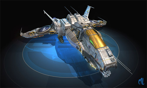 ship design illustration