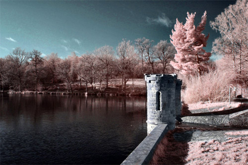 Infrared Fairytale Towers