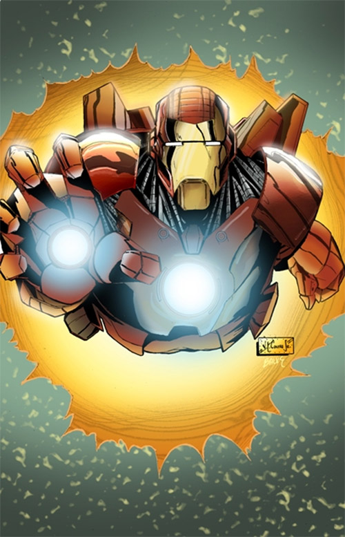 Iron Man burst