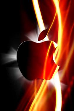 Apple Electric iPhone Wallpaper