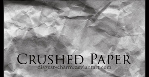 Crushed Paper photoshop