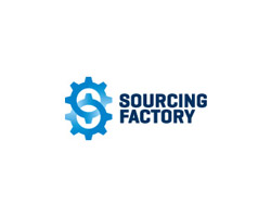 Sourcing Factory Blue Logo