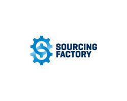 Sourcing Factory Blue Logo