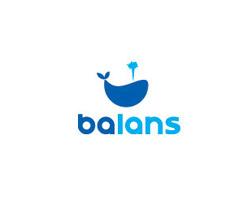 Blue Logo Balans