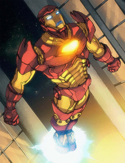 Soaring Iron Man