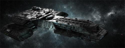 cool spaceship illustration